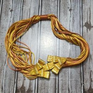 Rare Vintage 60's Silvana Brass Belt
